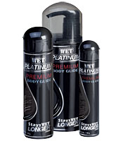 WET Platinum Formula Silicone-Based Lubricant