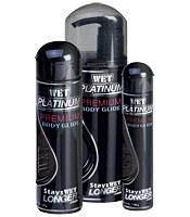 WET Platinum Formula Silicone-Based Lubricant